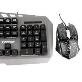 Bàn phím và chuột có dây của Bosston Gaming rainbow 8350 1