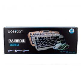 Bàn phím và chuột có dây của Bosston Gaming rainbow 8350 3