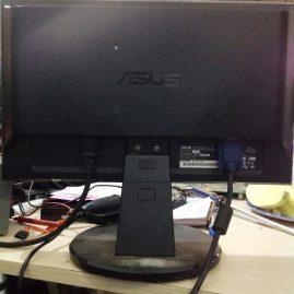 Thanh lý màn hình LCD asus 16inch đẹp không lỗi giá 300k 1