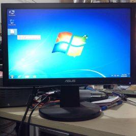 Thanh lý màn hình LCD asus 16inch đẹp không lỗi giá 300k 2