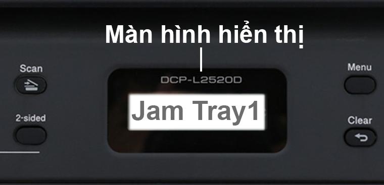 Màn hình báo Jam Tray1