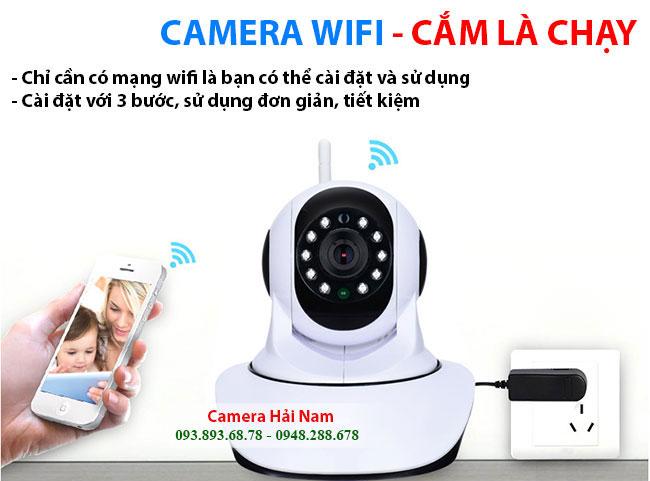 Camera Wifi Yoosee cắm là chạy, dễ sử dụng