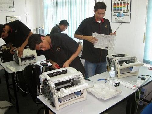 Dịch vụ sửa chữa lỗi máy in thường gặp