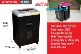 may huy tai lieu silicon ps 650c 6