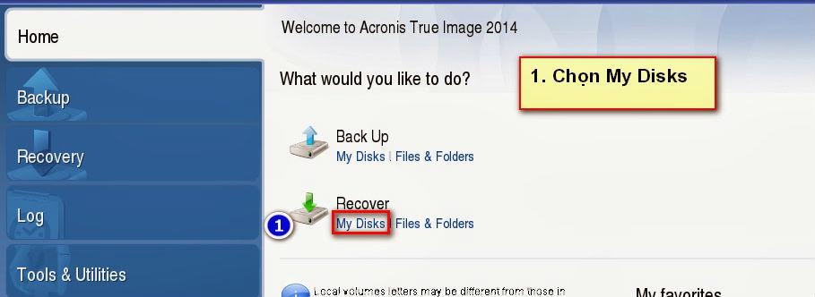 sử dụng acronis true image 2014 1